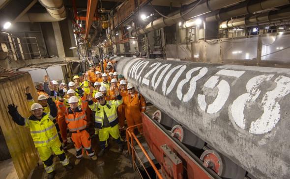 Строительство трубопровода «Северный поток-2» полностью завершено