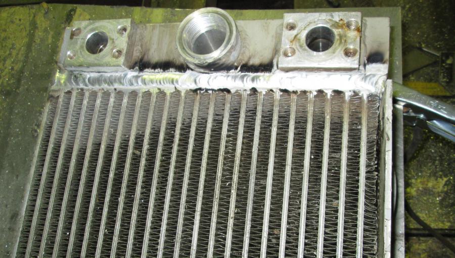 Профессиональные услуги и сервисы - ремонт радиаторов и интеркулеров в санкт-петербурге