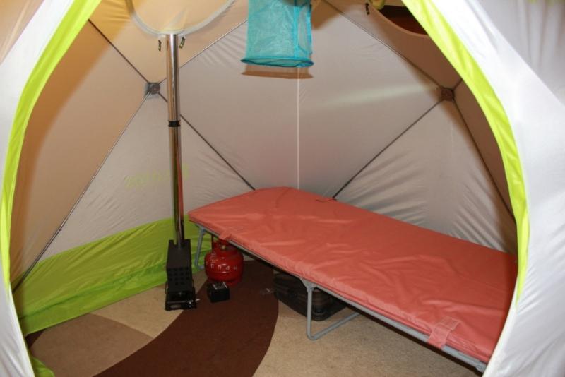 Отопление палатки зимой