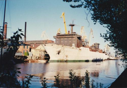 ЛАО.Достроечный водоём.Корабль измерительного комплекса (КИК) =А.П=.jpg