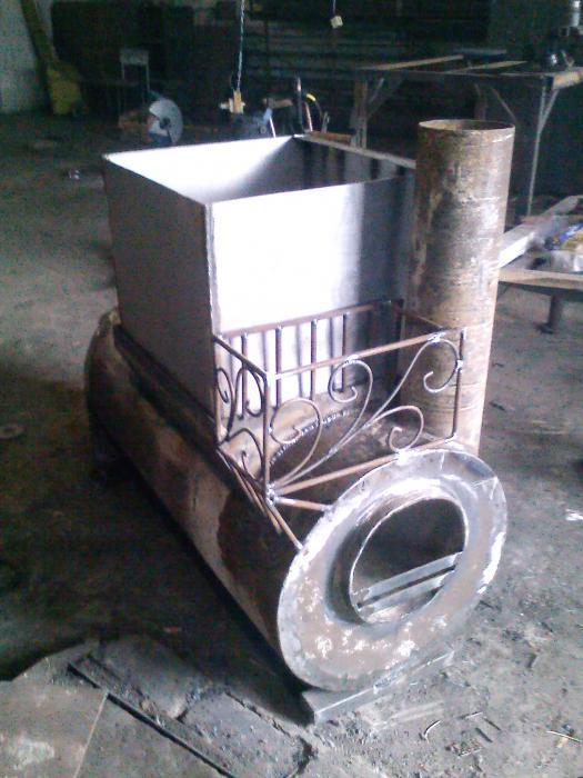 Печь для бани своими руками из колесных дисков своими руками 88