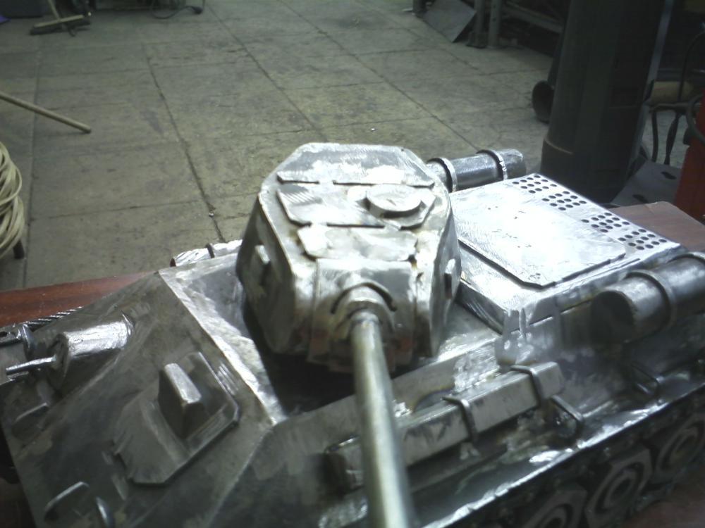 Как сделать своими руками танк из металла