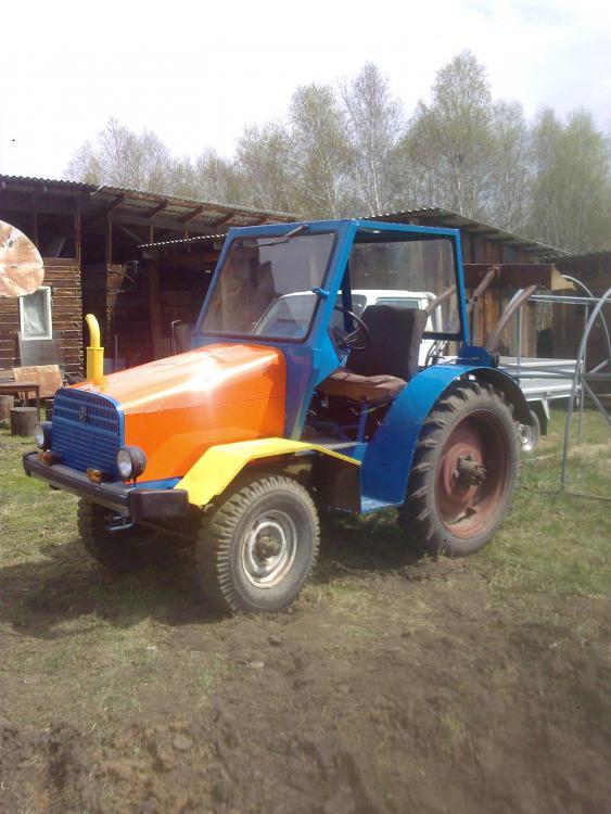 Трактор из маза своими руками 102