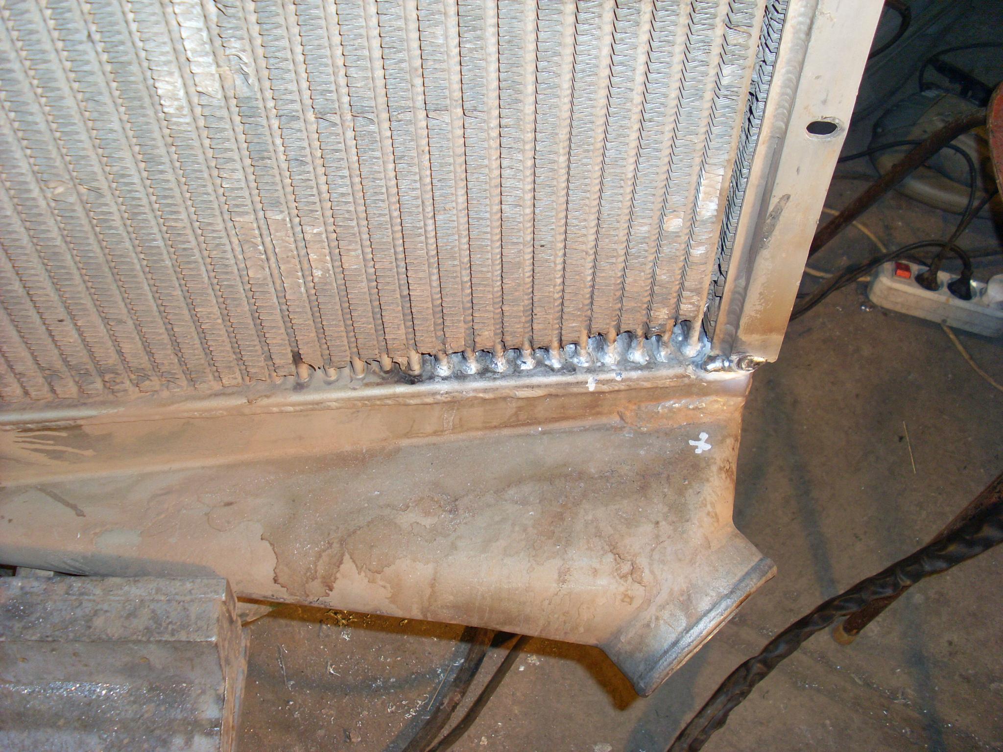 Ремонт радиаторов автомобилей 18 фотография