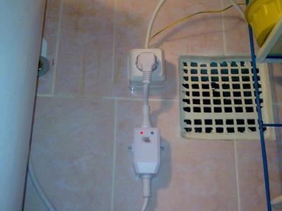 В ванной бьёт током что делать