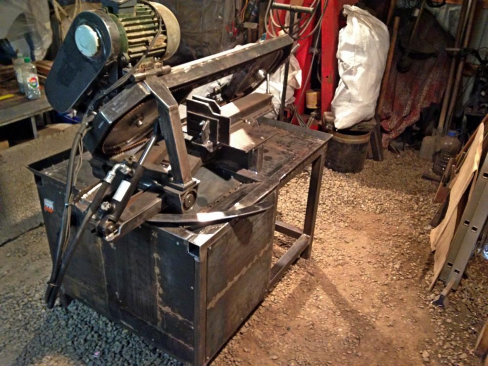 Ленточнопильный станок по металлу своими руками фото 54