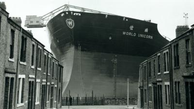 world unicorn ready for launch by swan hunter 1973.jpg