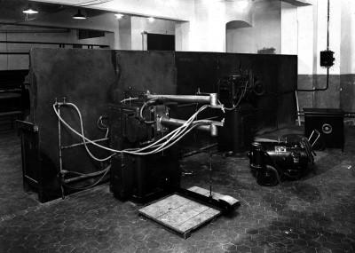 Лаборатория дуговой сварки в королевском техническом институте города Турина, Италия. 1930-е годы. Ф Grossi, Edoardo 2.jpg