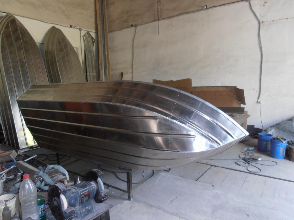 видео лодка из алюминия своими руками видео