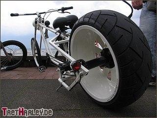 Широкие колеса на велосипед своими руками