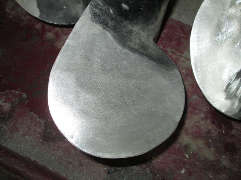 ремонт бронзового гребного винта