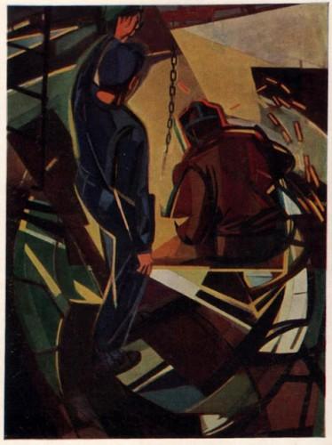 Армандо Пиццинато (род. 1910 г.) «Сварщики». 1949 г.jpg