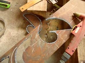 Как сделать кондуктора для ковки