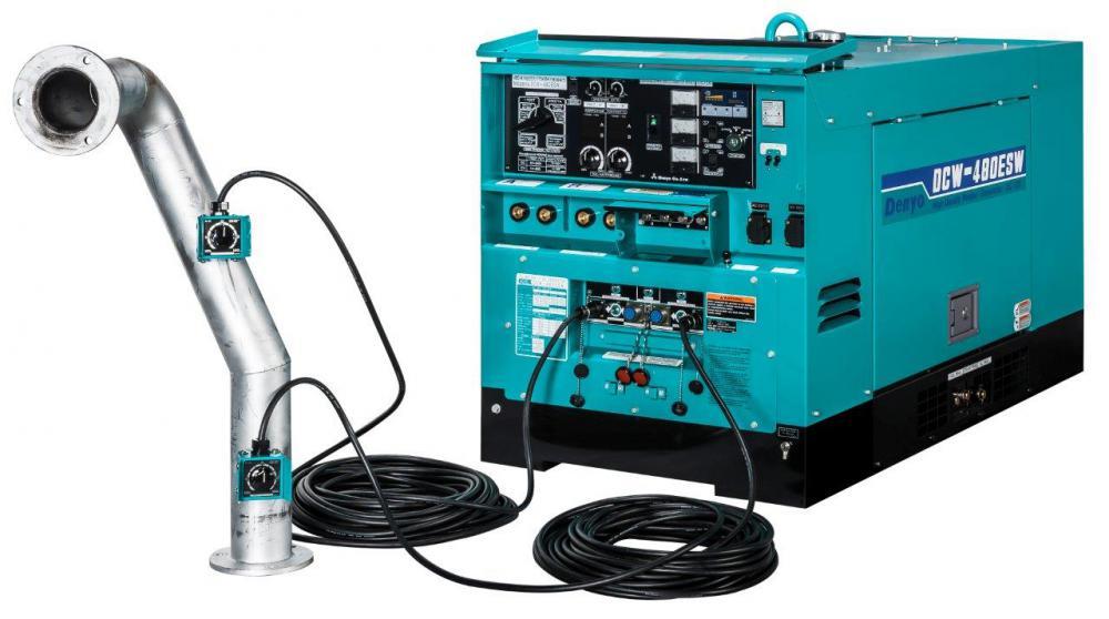 Denyo DCW-480ESW сварочный дизельный агрегат