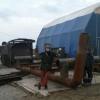 Волокуша для строительства зимней автодороги (зимника) на Ямале - последнее сообщение от Ринат43